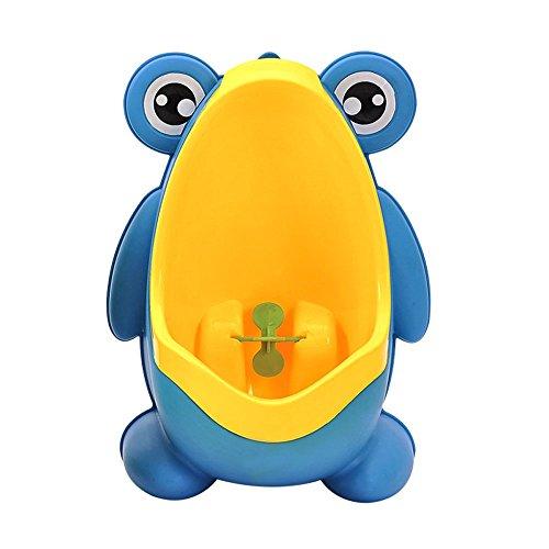 efanr Kunststoff Kinder Baby Potty WC Lovely Frosch Style tragbarer Training Kinder-WC Boy turnschuhe wandhängende Baby Care Groove Produkt mit Sauger und Loch zum Aufhängen Outdoor-töpfchen-training Für Hunde