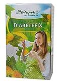 Tee zum Abnehmen mit 4 Kräutern, auch bei Diabetes, 60x1,5g, 90g, kurbelt Stoffwechsel, Verdauung an, bremst Heißhunger, senkt Zuckerspiegel, Fette und Cholesterin, entwässert, entsäuert