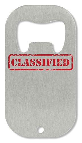 Classified Stamp Funny Abrebotellas