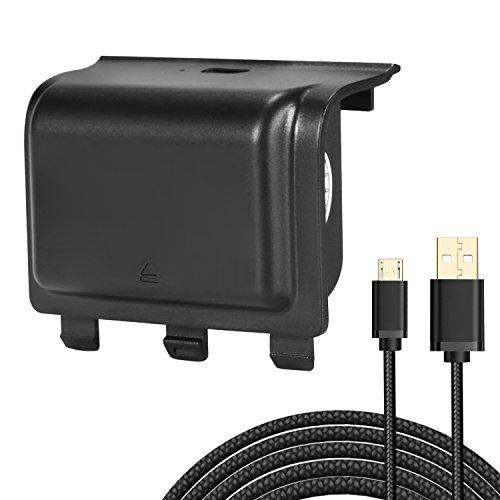 kingtop-paquetes-de-baterias-1200mah-bateria-recargable-powerbank-smart-cargador-cable-de-carga-con-