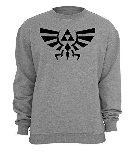 Legend of Zelda Hyrule Crest Triforce Unisex-Sweatshirt Small