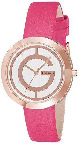 Giordano Analog Rose Gold Dial Women's Watch - A2042-08