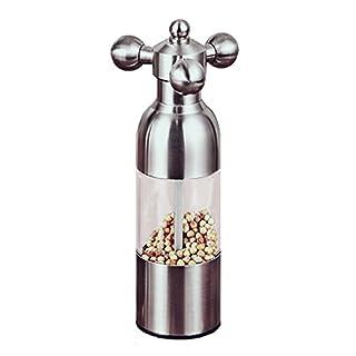 znystar Edelstahl Pfeffermühle Form des Wasserhahn Pfeffermühle Grinder manuell