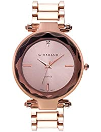 Giordano Analog Rose Gold Dial Women's Watch-C2193-55