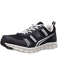 Globalite Men's Sports Shoes Vertax Navy White GSC0285 UK/IN-6
