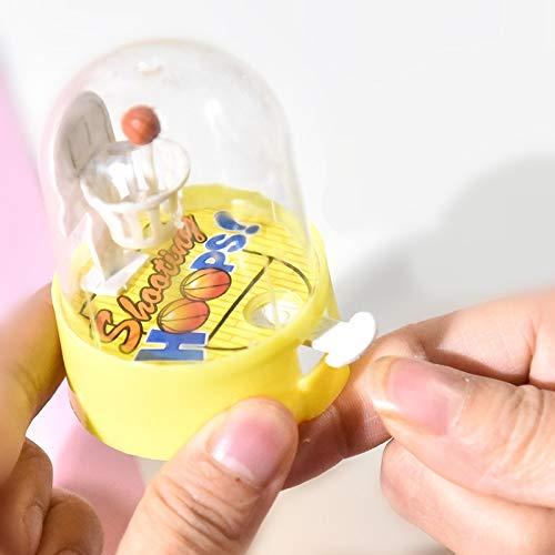 Boden-vent (RUNNA Zufällige Farbe Mini Finger Schießen Maschine Entladen Ball Vent Puzzle Kinder Kreative Interaktive brettspiel Basketball Boden, MOQ 10 STÜCKE Durable)