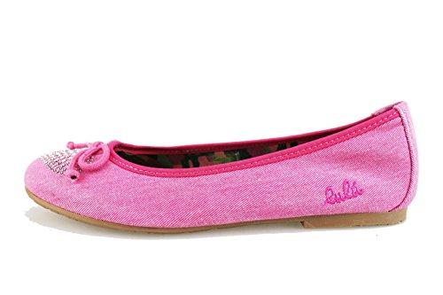 scarpe bambina LULU' ballerine tela (EU 34, Fucsia)