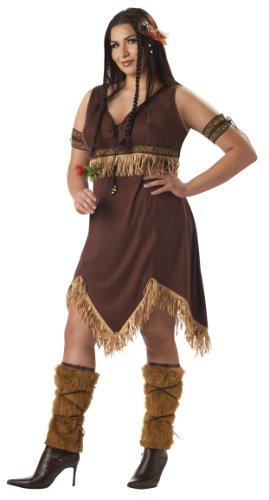 Indian Princess Kostüm - Plus Size Indian Princess Fancy dress costume 2X