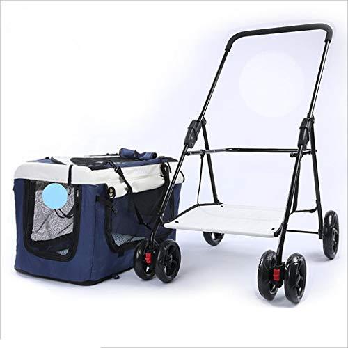 Jlxl Multifunktional Pet Kinderwagen Kann Sein Gebraucht Wie EIN Hundezelt Kennel Ausflug Rucksack Zum Haustier Auto Sicherheit Box