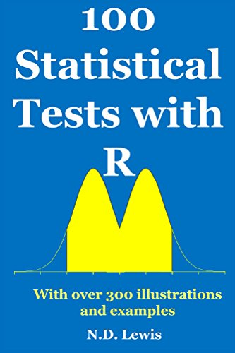 100 Statistical Tests in R: With over 300 illustrations and examples (English Edition)