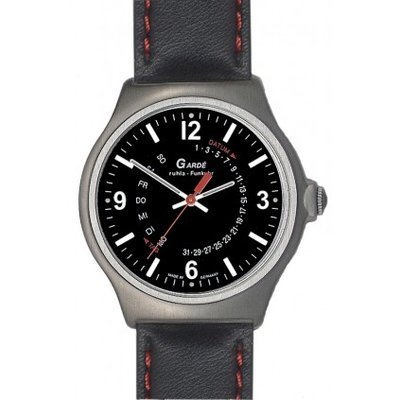 Garde Ruhla 227–76–Armbanduhr, Lederband
