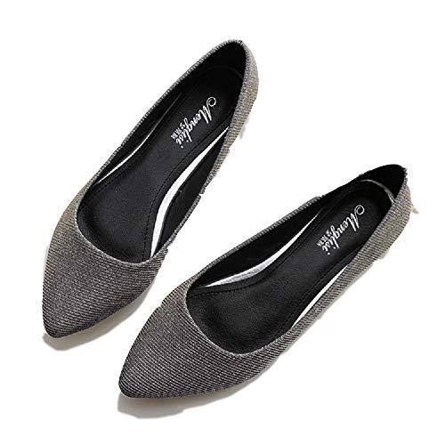 Zapatos Cuero cómodos Plataforma Moda Mujer talón