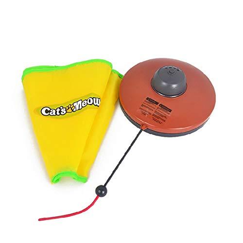 Preisvergleich Produktbild ForceSthrength Großes lustiges Katzenspielzeug des Drehtellerhaustieres elektrisches Drehteller-Haustier-wechselwirkende Spielwaren