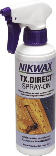 Nikwax TX Direct Spray-On Water Proofer, Transparent, 300ml Limited Snowboard-jacke