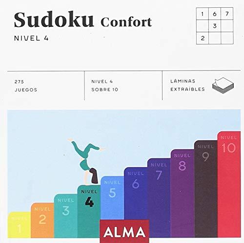 Sudoku Confort 4 (Cuadrados de diversión) por Any Puzzle
