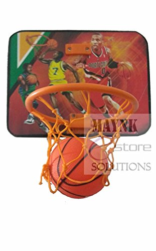 Zeus Kid's Basket Ball with Hanging Board