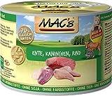 MAC's Katzenfutter getreidefrei Ente, Kaninchen, Rind, 200 g