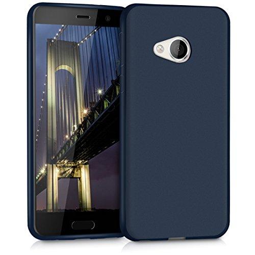kwmobile HTC U Play Hülle - Handyhülle für HTC U Play - Handy Case in Dunkelblau matt