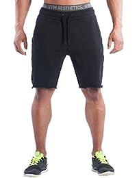 THEE Herren Shorts für Sport Fitness Gym Bodybuilding Workout Training    Freizeit Trainingsshort Trainingshose Sporthose Freizeithose 986893399e