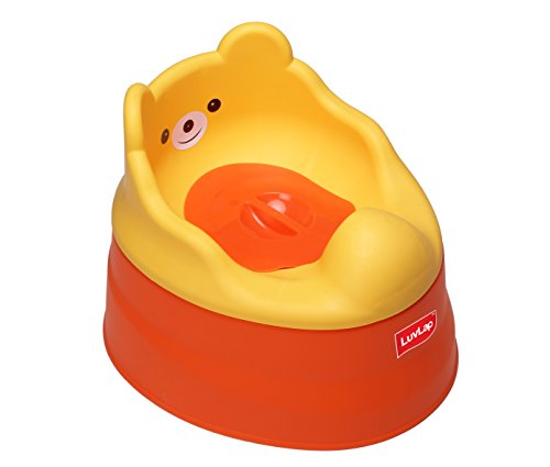 Luvlap Baby Potty Training Seat (Orange/Yellow)