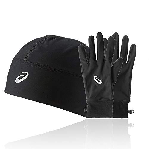 Running Winter-handschuhe (ASICS Performance Pack - Winter Beanie Plus Handschuhe - Small)