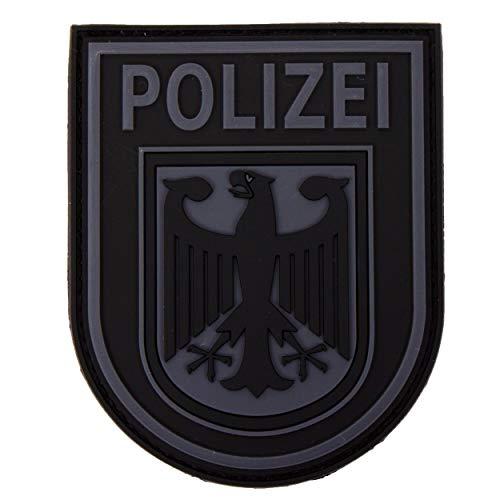 Jackets To Go JTG Ärmelabzeichen Bundespolizei, blackops / 3D Patch - 14 Klare Patches