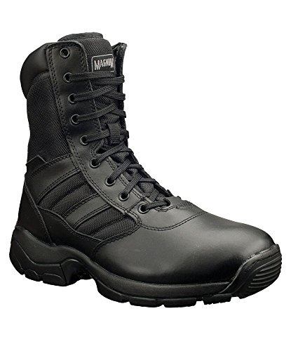 Alexandra Magnum stc-fw525bk-6Panther 8.0Sicherheit Boot, Uni, Leder, Größe: 6, Schwarz Leder Shift Boots