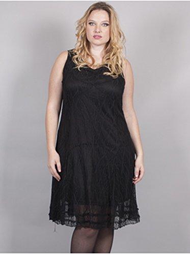 Vêtement Femme Grande Taille Robe Dentelle Noir Noir