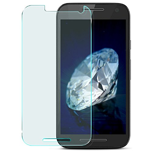 Heartly Protective 9H Hardness Nanometer Anti Explosion Tempered Glass Screen Guard Protector For Motorola Moto G3 / Moto G 3Rd Generation / Moto G Turbo