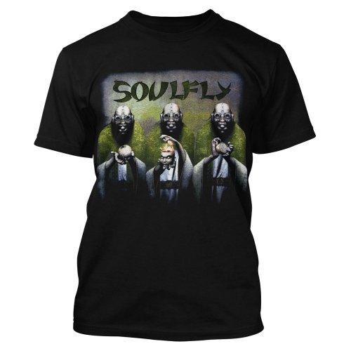 Soulfly -  T-shirt - Maniche corte - Uomo nero Medium