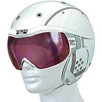 Casco esquí SP 6Vautron Visera, invierno, color, tamaño large