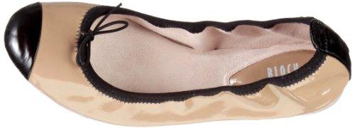 Bloch - Luxury Ballet Flat, Ballerine da donna Beige (Beige/PUM)
