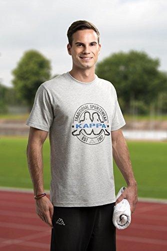 KAPPA - Herren T-Shirt Grau