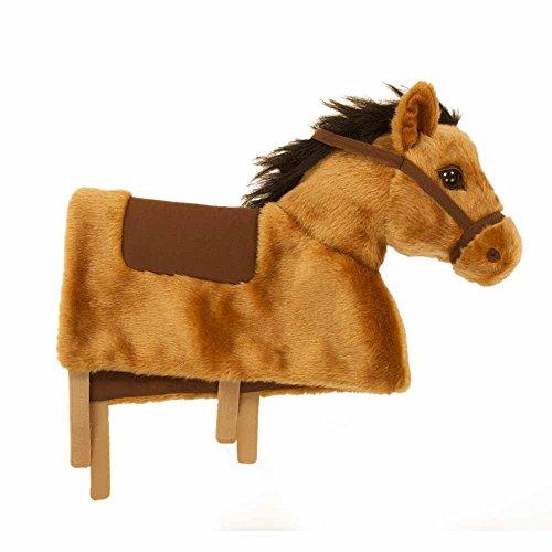 Animal-Riding BH03 Reitpferd Amadeus Baby Horse (für Kinder ab 6 Monaten, Farbe weiß) ZRB003B, braun (Baby Horse Games)