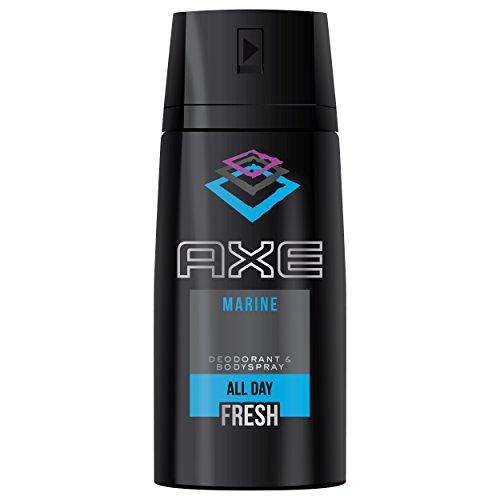 AXE Desodorante Bodyspray Marine - 3 Paquetes de 150 ml - Total: 450 ml