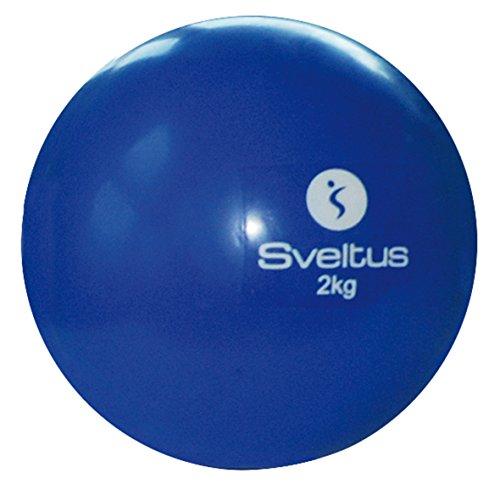 Sveltus Palla zavorrata blu 2 kg