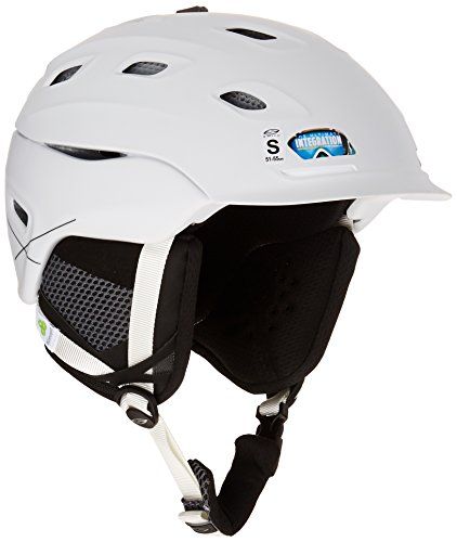 SMITH OPTICS Erwachsene Ski- und Snowboardhelm Vantage M, Matte White 14, E006557BK5963 (Smith Erwachsenen Ski-helm)