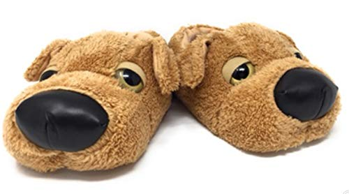 eBoutik Dog Puppy Slippers Girls Boys Ladies Novelty Christmas