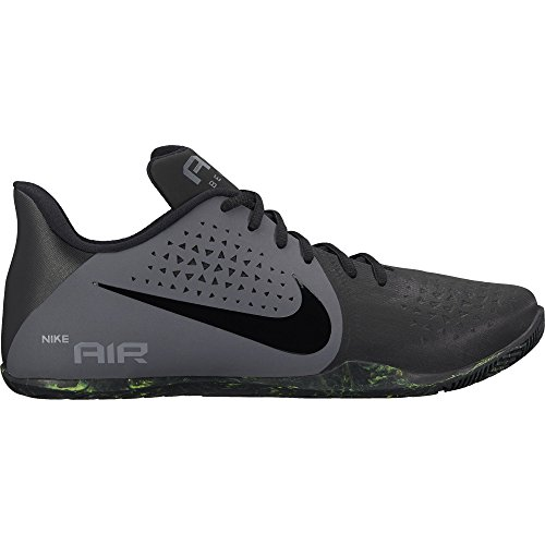 Nike Men's Air Behold Low / Black/Grey/Volt Basketball Shoes - 7 UK/India (8 US)