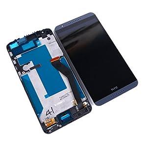 Original HTC Desire 820 LCD mit Rahmen (Bildschirm Anzeige Screen) Grau