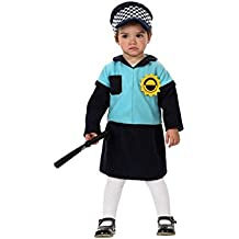 Atosa  - Disfraz de policía bebé niña talla 12-24meses