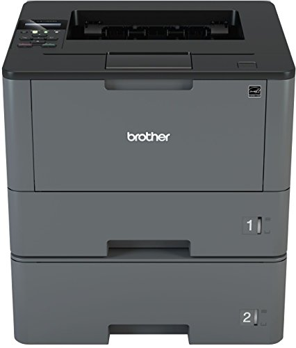 Brother HL-L5100DNT A4 monochrom Laserdrucker (Drucken, 1.200 x 1.200 dpi, USB, Print AirBag für 200.000 Seiten)