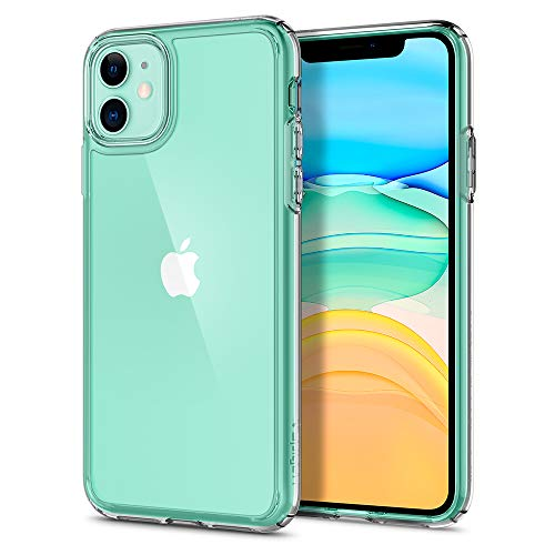 "spigen Ultra Hybrid Funda iPhone 11, Compatible con Apple iPhone 11 (6.1"") 2019 - Transparente"