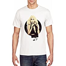 Lady Gaga Inspired Cassette Graphic Herren T-shirt