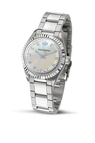 Philip Watch - R8253107765 - Montre Femme - Quartz - Analogique - Bracelet Acier Inoxydable Argent