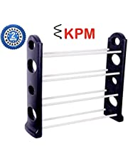 KPM™ Easy to Assemble & Light Weight Unbreakable 4 Shelves Shoe Rack