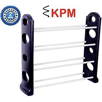 KPMTM Easy to Assemble & Light Weight Unbreakable 4 Shelves Shoe Rack