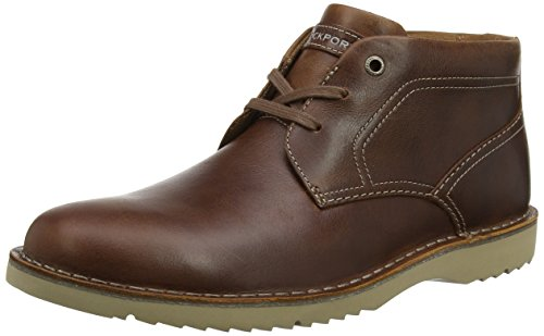 Rockport Men Cabot Chukka Boots, Brown (Brown Leather), 9 UK 43 EU