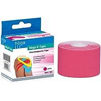 Höga Pharm kinesiologischer Tape, 5 cm x 5 m, pink, 1er Pack (1 x 95 g) preisvergleich bei billige-tabletten.eu