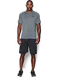 Under Armour Ua Tech Ss Tee Herren Fitness - T-Shirts & Tanks, Grau Steel, M